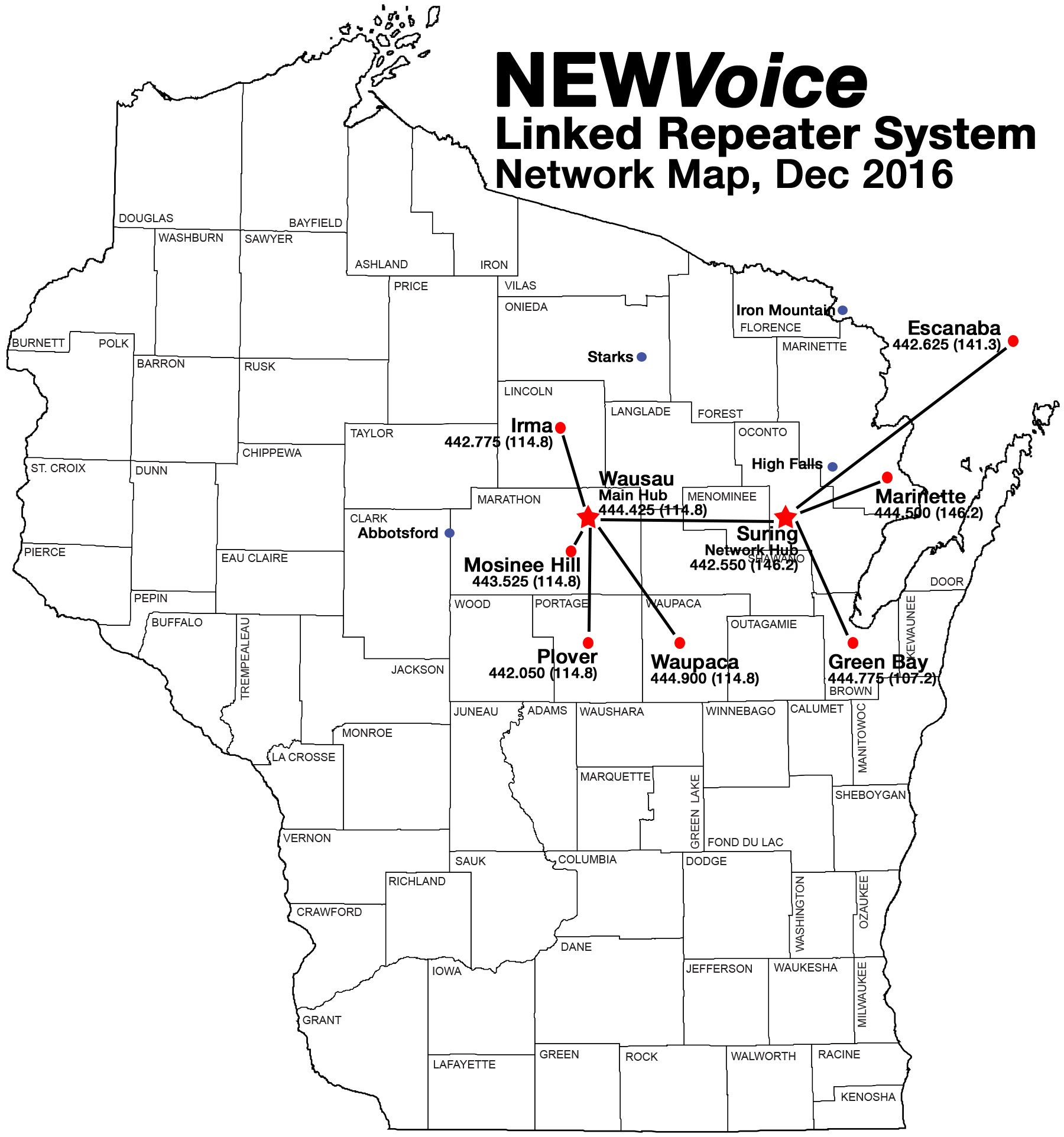 444 425+/442 050+/444 900+ (N E W  Voice system) | Wisconsin